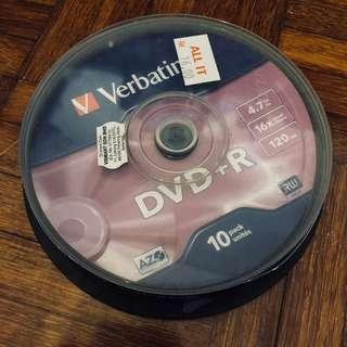 Verbatim DVD+R RW (8pcs)