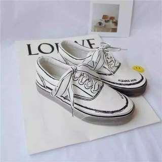white list shoes import