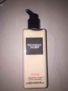 Victoria secret lotion tease