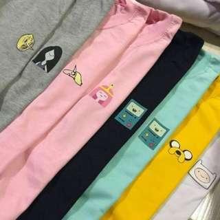 Adventure time logo shirts
