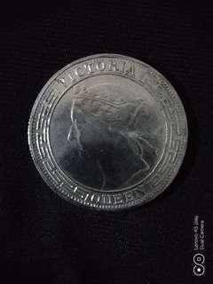 1868年香港半圓幣