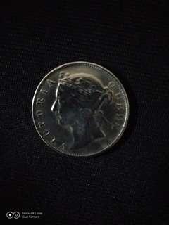 1880-香港貳毫幣