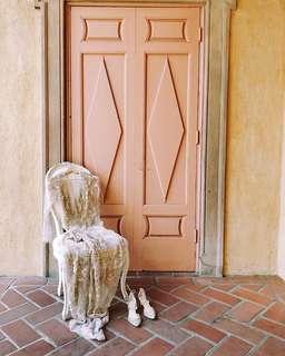 🚚 貓 in japan boho vintage dress 夢幻復古波西米亞蕾絲洋裝 透視 婚禮 宴會 伴娘裝 女伶 買一送一