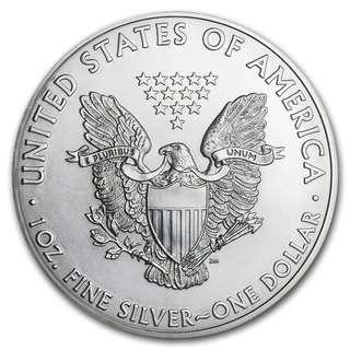 20pcs x 2011 Silver American Eagle  999 Coins