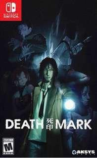 Nintendo Switch Death Mark Limited Edition