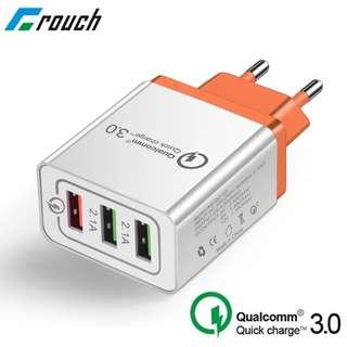Universal 18 W USB Quick charge 3.0 5V 3A