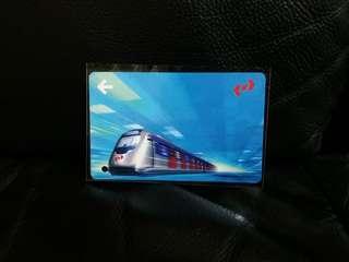kcr 九廣鐵路特別版車票