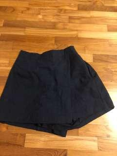 Navy pants skirt