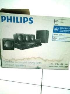 of Philips Home Theater 5.1 System HTD3510