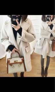 韓式中長款大衣