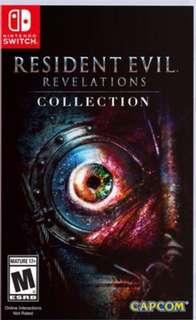 Nintendo Switch Resident Evil Revelations Collection