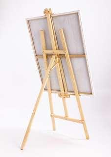 Easel wood stand
