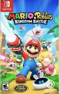 Nintendo Switch Mario Rabbids Kingdom Battle