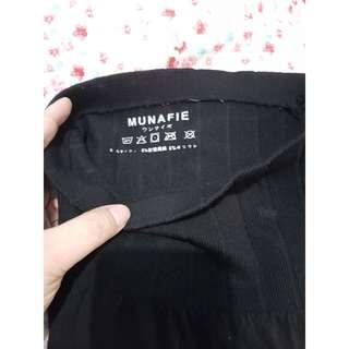Celana korset Munafie Black Original