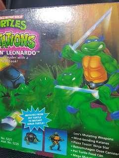Merry Christmas! Sales! Teenage Mutant Ninja Turtles Mutations Mutatin Leonardo