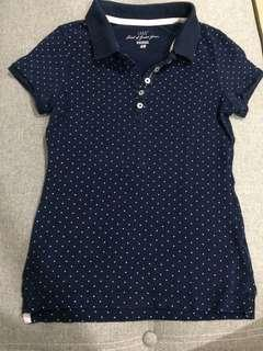 H&M Navy Polo shirt size XS