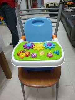 Booster Chair with Tray and Removable Tray