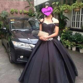 REPRICED!!! Black Dutches Ballgown