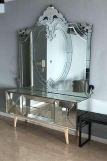 Wall Mirror / display Cabinet Mirror