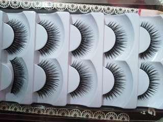 1 pair Eyelash
