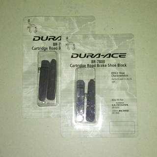 Dura-ace brake pads BR-7800 R55C2 shoe block