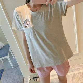 Hp catty brodir grey  65.000 Bahan kaos import allsize fit L best seller