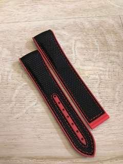 20mm nylon rubber strap for omega