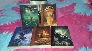 Percy Jackson and The Olympians Book 1-5(by Rick Riordan)