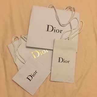 Dior paper bag 名牌紙袋