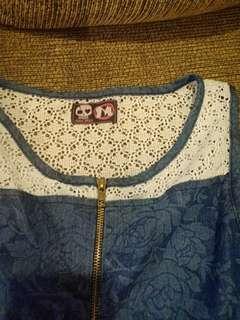 Maong jumpsuit