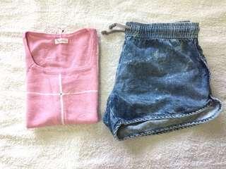 📌Bundle Bershka Shorts