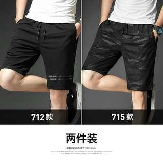 Mens Summer 3/4 Thin Sports/casual Shorts