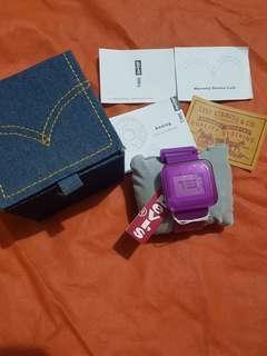 Levi's Watch Original Purple