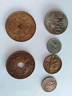African coin mixed