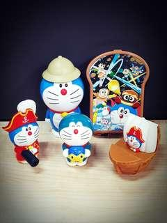 Doraemon Bundle Set of McD Toys