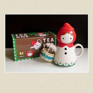 TEA FOR ONE 小紅帽茶具套裝