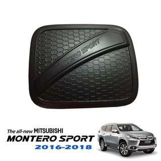 Mitsubishi Montero Sport 2016-2018 Gas Tank Cover (Matte Black)