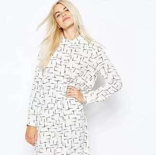 Monki shirt dress