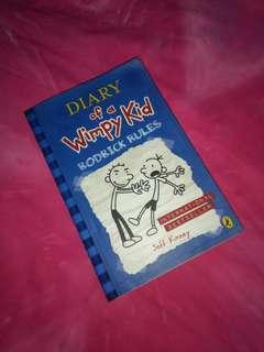 Diary of A Wimpy Kid: Rodrick Rules (by Jeff Kinney)