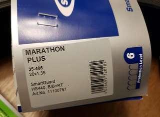"出售全新Schwable Marathon plus 20"" 呔 減價"
