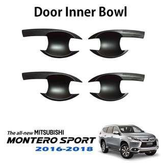 Mitsubishi Montero Sport 2016-2018 Door Inner Bowl Matte Black