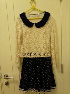韓國製斯文裙