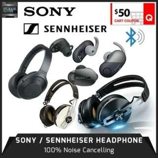 SONY WH-1000XM3 VS SENNHEISER Industry Leading Noise Cancellation Engine. 12 Months Warranty!