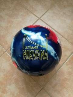 12 lbs Brunswick bowling ball