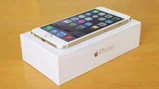 iPhone 6 Plus gold new battery