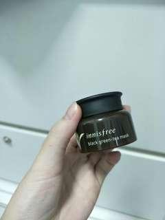 Innisfree Black Green Tea Mask 20ml