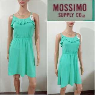 (S) Mossimo mint green cotton dress