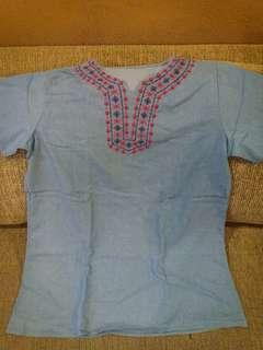 Maong Blouse