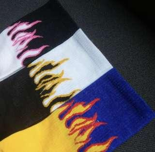 Flame socks 🔥