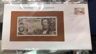 奧大利亞早期鈔與票